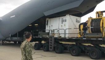 Llega a Argentina material de España para rescate de tripulación de submarino
