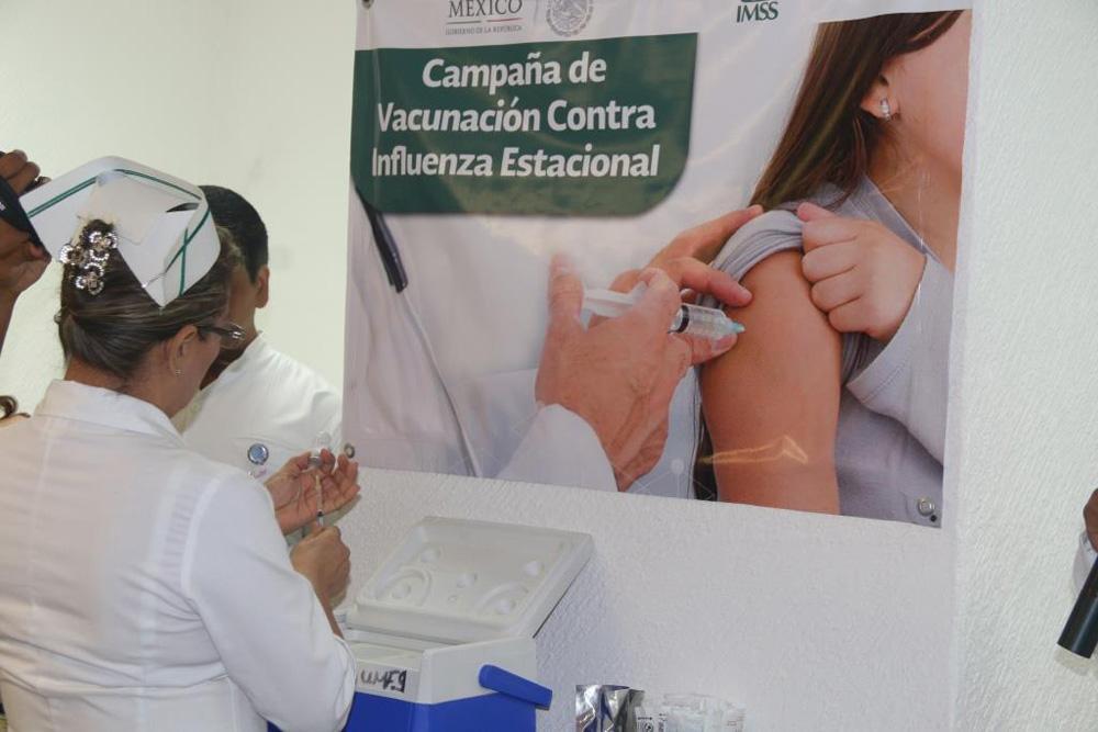 Vacunarse contra influenza disminuye el riesgo de mortalidad: SSJ