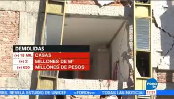 A 2 Meses 19-S Demolido Más 18 Casas Presidencia República