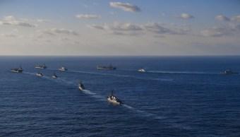 EU y Corea del Sur exhiben su músculo militar en maniobras conjuntas