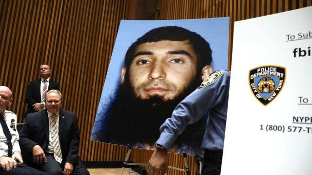 Acusan terrorismo Sayfullo Saipov atacante Manhattan Nueva York