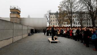 Alemania conmemora la caída del muro de Berlín
