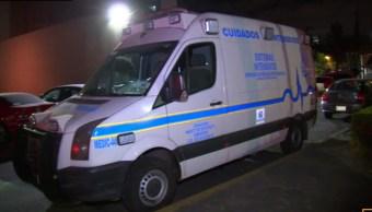 localizan ambulancia robad y detienen a una persona