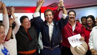 salvador nasralla lidera eleccion presidencial honduras