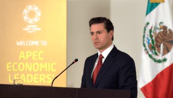 Hubo consenso a favor del libre comercio en APEC, destaca Peña Nieto
