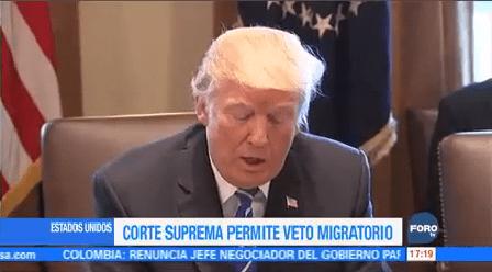 Aprueban Aplicación Total Veto Migratorio Trump