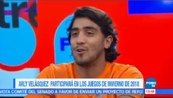 Arly Velásquez Participará Juegos Invierno 2018
