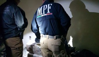 Aseguran marihuana y cargadores en Álamos, Sonora