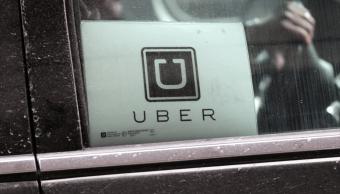 Automóvil de Uber en el aeropuerto de Nueva York