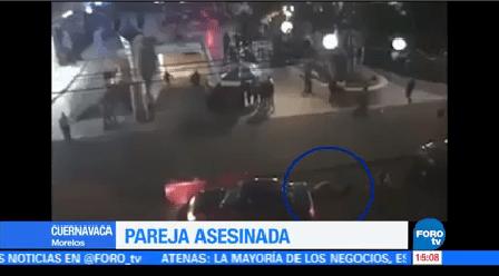 Balacean Pareja Cuernavaca Morelos Hombre Murió Mujer Resultó Herida
