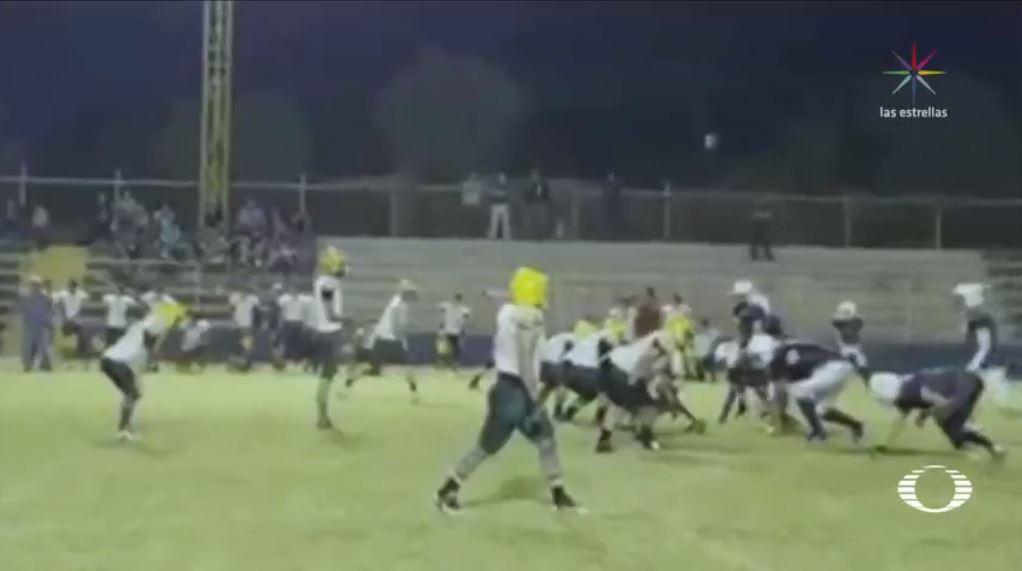 Tiroteo termina con un partido de futbol americano, hay un muerto #VIDEO