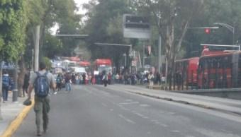 bloquean insurgentes pedir revision escuela sismo 19 s