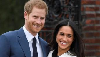 El príncipe Enrique de Inglaterra y a la actriz Meghan Markle