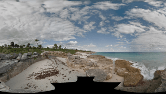 Cancún, Quintana Roo. Imagen original de Google Street View