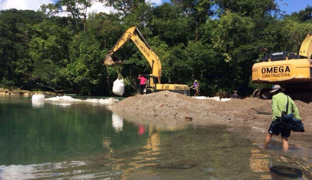 Continúan labores de rehabilitación de cascadas de Agua Azul