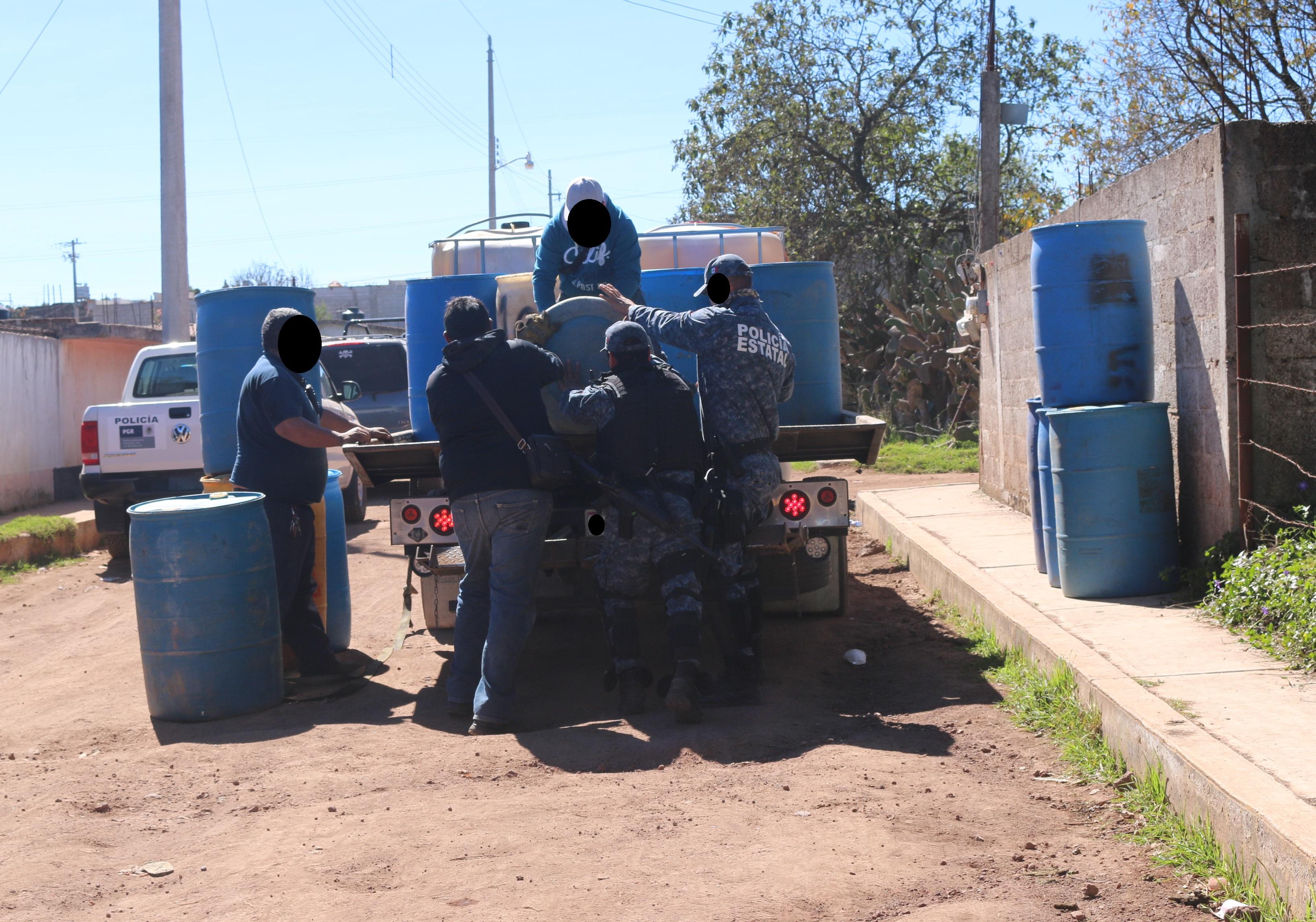 Detienen a 15 huachicoleros en un operativo en Hidalgo