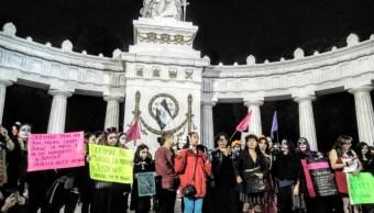 catrinas marchan centro cdmx feminicidios