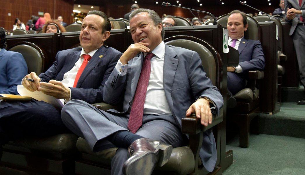 César Camacho, diputadas PRI, Ariel Juárez, grito puto