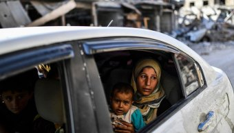 Civiles regresan Al Raqa exbastión Estado Islámico