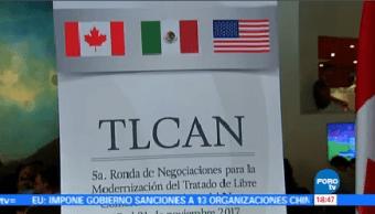 Concluye 5ta Ronda Renegociación Tlcan