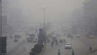 Altos niveles de smog en India impiden la visibilidad