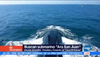 Continúa Búsqueda Submarino Ara San Juan Periodista Conductor