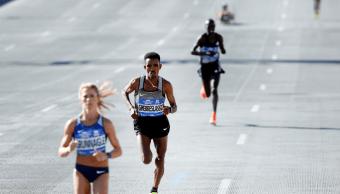 Corredores del maratón de Nueva York en 2016