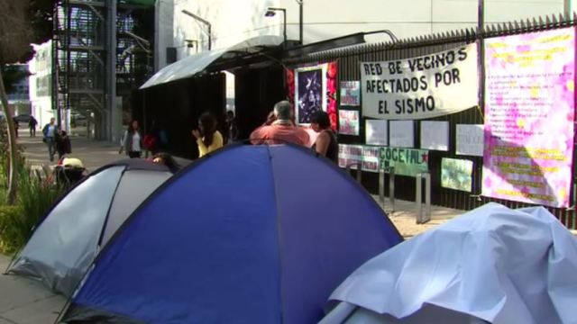 Damnificados por sismos en Oaxaca denuncian en Senado apoyo insuficiente de recursos