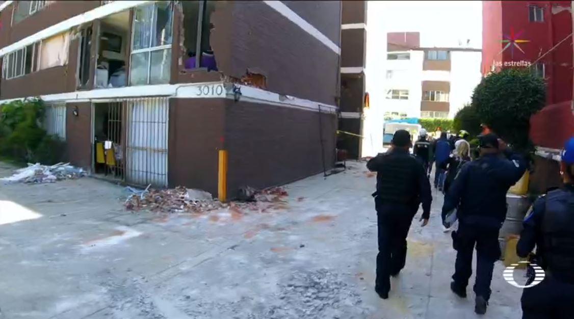 damnificados miramontes recuperan bienes demolicion departamentos