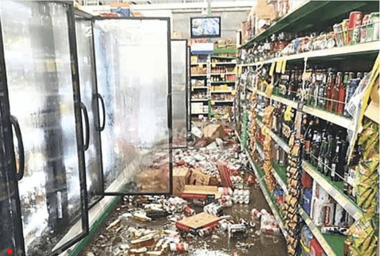 Danos provocados por terremoto en Costa Rica