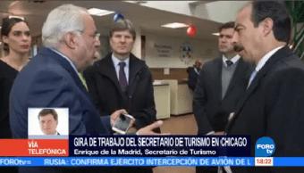 De Madrid Seguir Llevando Turistas México Secretario De Turismo