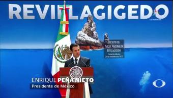 Decreta EPN creación del Parque Nacional del Archipiélago de Revillagigedo
