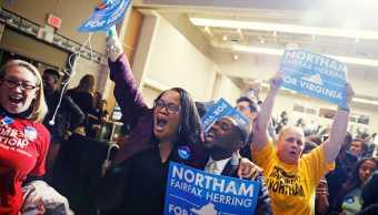 Demócratas derrotan candidatos republicanos apoyados Trump