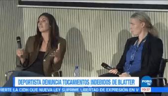 Deportista Denuncia Tocamientos Indebidos Joseph Blatter Hope Solo