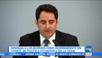 Designan Luis Madrazo Lajous Vicepresidente Política Económica Ocde