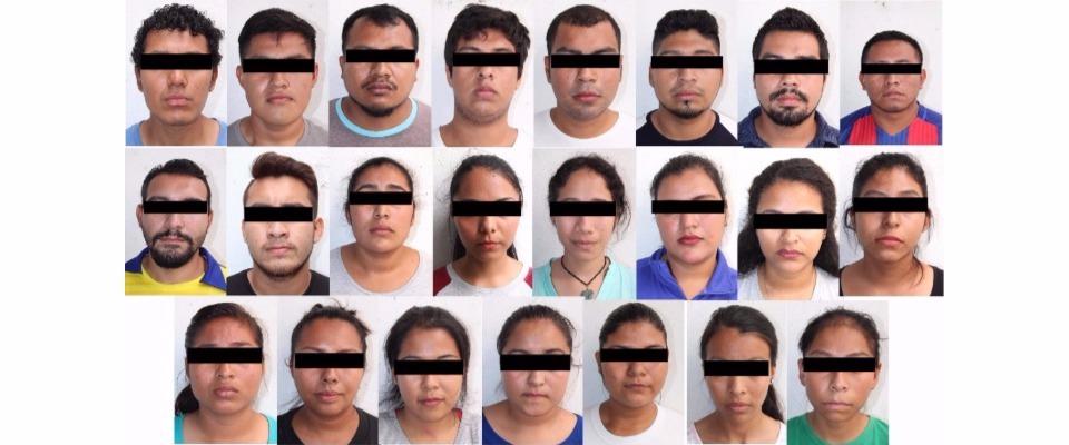 Detenidos en Chiapas, vinculados con el incendio en la Subsecretaría de Educación