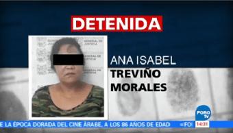 Detienen Hermana 'Z 40' Nuevo Laredo Ana Isabel Treviño Morales