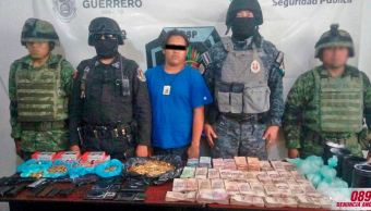 detienen hombre arsenal droga mdp acapulco