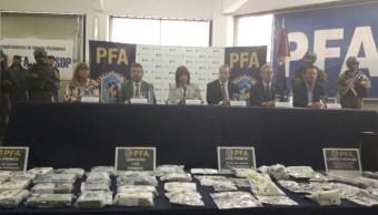 Detienen Argentina banda vinculada El Chapo Guzmán