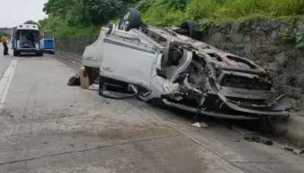 accidente diputado morena veracruz camioneta cuitlahuac
