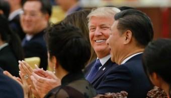 Donald Trump logra acuerdos comerciales con China
