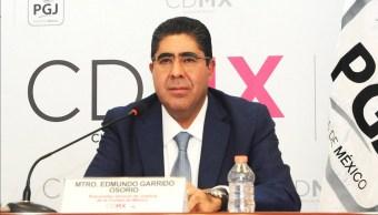 Edmundo Garrido, procurador general de Justicia de la CDMX