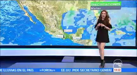Clima A Las Tres Mayte Carranco Tiempo Seco