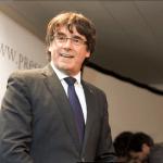 El expresidente catalán Carles Puigdemont en Bruselas