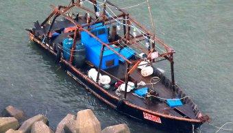Guardia costera encuentra ocho pescadores norcoreanos Japón