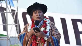 Autorizan Evo Morales postularse presidencia Bolivia
