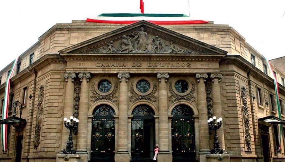 Fachada de la Asamblea Legislativa en la CDMX