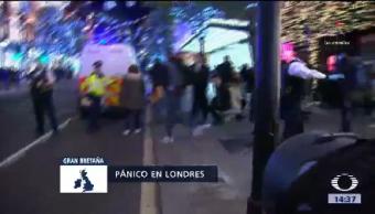 Falsa Alarma Genera Pánico Londres