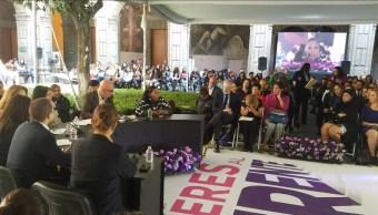 Frente Ciudadano por México incluirá agenda de género