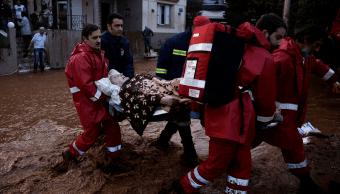 Inundaciones en Grecia dejan 15 muertos y cientos de desaparecidos